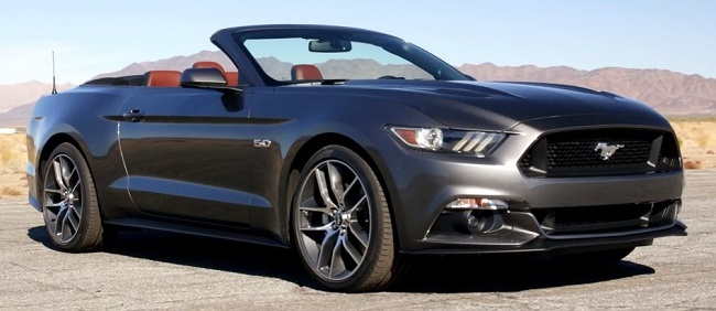 Ford Mustang Convertible 5000cc Ti-VCT V8