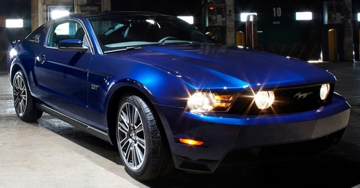 Ford Mustang GT con ECU CONTINENTAL